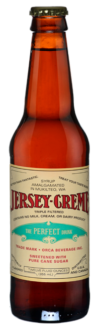 Jersey Creme Soda in 12 oz. glass bottles for Sale