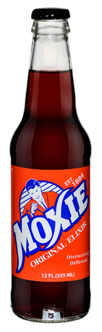 Moxie Original Elixir in 12 oz. glass bottles for Sale
