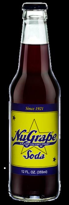 NuGrape Soda in 12 oz. glass bottles for Sale