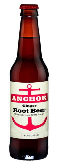 Anchor Ginger Root Beer in 12 oz. glass bottles for Sale