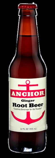 Anchor Ginger Root Beer in 12 oz. glass bottles for Sale