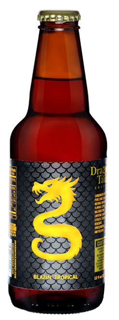 Dragon Tail Blazin Tropical Soda in 12 oz. glass bottles for Sale