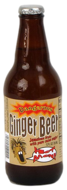 Hosmer Mountain Dangerous Ginger Beer in 12 oz. glass bottles for Sale
