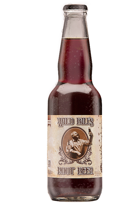Northwoods Wild Bill''s Root Beer in 11.5 oz. glass bottles for Sale at SummitCitySoda.com