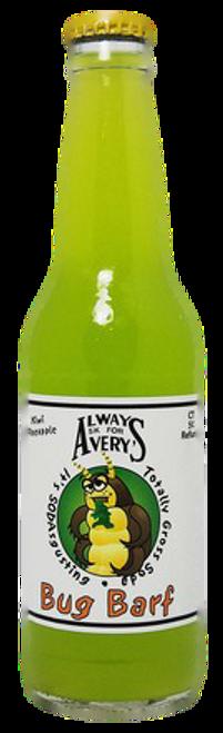 Avery's Totally Gross Bug Barf Soda in 12 oz. glass bottles for Sale