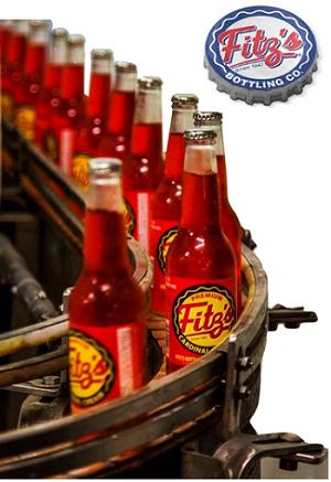 Fitz's Bottling Works vintage bottling line in St Louis