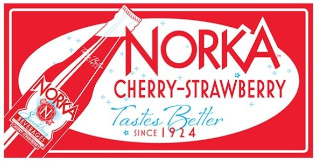 Norka Cherry Strawberry Original Sign