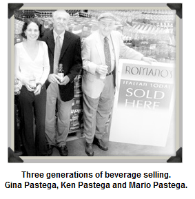 Romano's Italian Soda Company. Three generations in the beverage industry