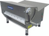 """Somerset CDR-500 Electric Tabletop Dough Sheeters with 20"""" Synthetic Non-Stick Rollers / Side-Operated Sheeters - Single Pass"""