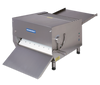 """Somerset CDR-700 Heavy Duty Electric Countertop Dough Sheeters with 20"""" Synthetic Rollers / Single Pass"""