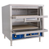Interior of Bakers Pride DP-2 All Purpose Electric Pizza Oven