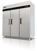 Migali C-3R-HC Competitor Series 3 Door Stainless Steel Reach-In Refrigerator