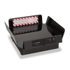 """CookTek XLPTDS100 Pizza Thermal Delivery System with FlashPak Disc, 18"""" Bag and PCT Tray Insert 