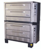 """Peerless CE62PESC Electric Pizza Ovens with Four 7"""" High Decks, Pizza Stones and 42""""W x 32""""D Deck Interior 