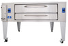 "Bakers Pride Y-800 8"" Deck Height Gas Deck Oven"
