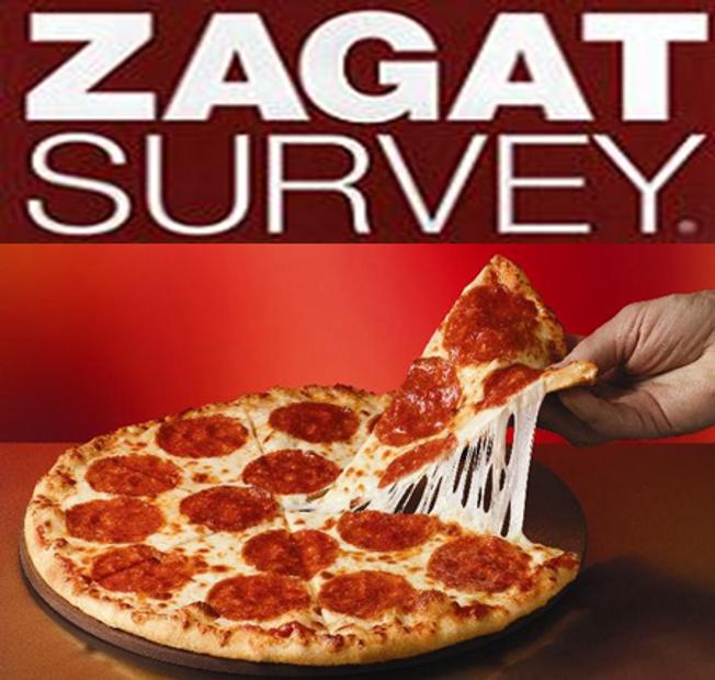 Zagat's 2012 Pizza Survey