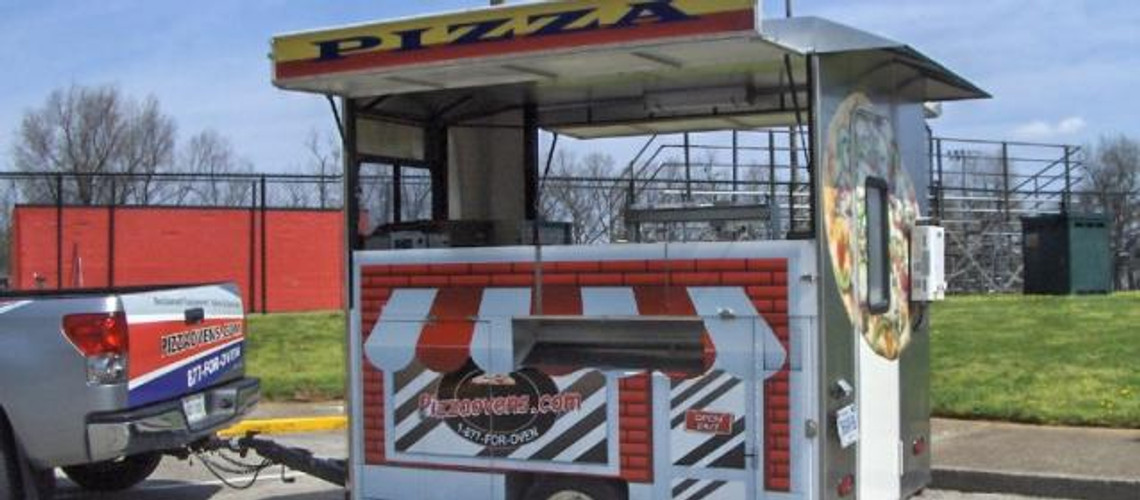 Introducing the NEW & improved Mobile Pizza Cart