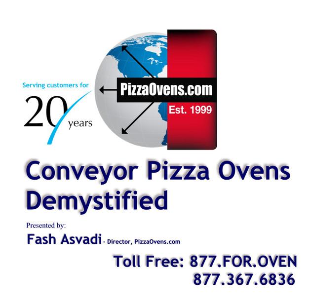 Understanding Commercial Conveyor Pizza Ovens