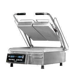 "Proluxe SL1577 Two Sided Stainless Steel Vantage SL Heavy-Duty Split Lid Sandwich / Panini Grills with 7.5"" Grilling Surfaces"