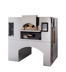 "Marsal WF42 One 36"" x 36"" Baking Chamber Brick-Lined Commercial Single Wave Flame Gas-Fired Pizza Ovens 