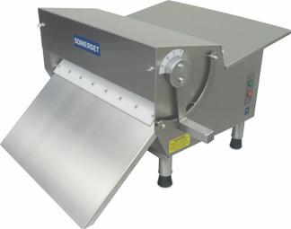 "Somerset CDR-600F Heavy Duty Electric Countertop Dough & Fondant Sheeters/Single Pass with 30"" Synthetic Rollers"