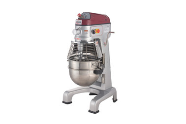 Axis AX-M30 30 Qt (Quart) Capacity Floor Model Gear Driven Commercial Planetary Mixer by MVP Group Corp