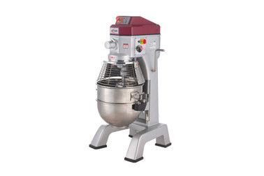 Axis AX-M40 40 Qt (Quart) Capacity Floor Model Gear Driven Commercial Planetary Mixer by MVP Group Corp