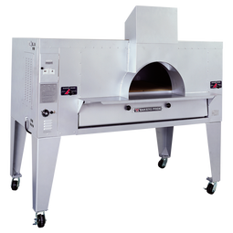 "Bakers Pride FC-516 One 10"" Deck High Il Forno Classico Stainless Steel Gas Pizza Bake Ovens 