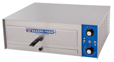 Bakers Pride PX-16 Single Bake Deck All Purpose Countertop Electric HearthBake Series Ovens | Stainless Steel Commercial Pizza / Pretzel Ovens with One (1) Baking Chamber