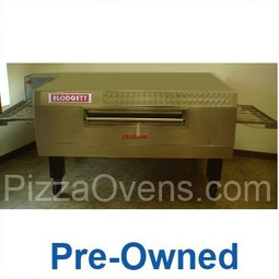 "Blodgett Pre-Owned MT3255 Stainless Steel Commercial Gas Conveyor Pizza Ovens with 32"" Wide Belt, 55"" Baking Zone Length & Impingement Operation 125000 BTU"