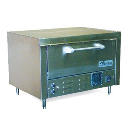 """Peerless  B121 1 Deck Electric Stainless Steel Commercial Counter Model Bake Ovens   Countertop Pizza Ovens with One 27"""" x 19"""" Hearth Deck"""