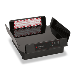 """CookTek XLPTDS200 Pizza Thermal Delivery System with FlashPak Disc, 18"""" Bag and PCT Tray Insert 