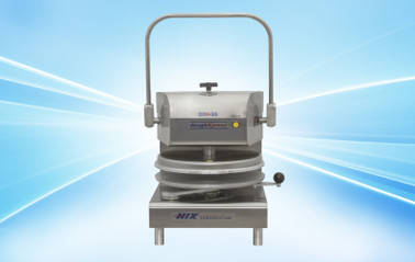 "DoughXpress DXM-SS 220V Commercial Manual Pizza Dough Presses   Capacity 150-200/HR for 9"" to 18"""