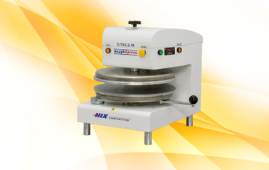 DoughXpress D-TXE-2-18 220V Commercial Electromechanical Tortilla Dough Press