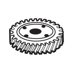 Alfa Int'l Hobart 12430-219 Worm Gear (31T) For Mixers