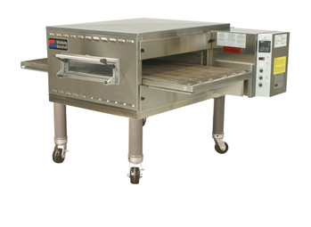 "Middleby PS540G Direct Gas Fired Impingement Plus Conveyor Ovens with 40.5 inch Long Cooking Chamber and 32"" Wide x 76.5"" Long Conveyor Belt 