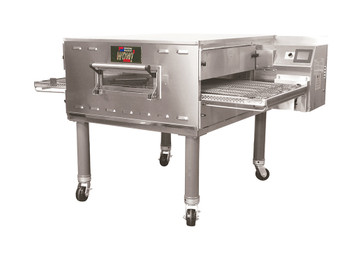 "Middleby PS638G Direct Gas Fired WOW! Impingement Plus Commercial Conveyor Ovens with 38 inch Long Cooking Chamber and 26"" Wide x 65.25"" Long Conveyor Belt 
