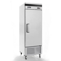 "Migali C-1RB-HC - One Section Solid Hinged Door 23 cu ft 27""W Stainless Steel Competitor Series Bottom Mounted Reach-In Refrigerators 