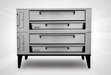 Marsal SD-1060 Stacked Gas Pizza Deck Oven