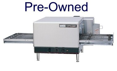 "Lincoln 1300_PO Single or Double Deck 1300 Series Pre-Owned Impinger I Gas/Electric Conveyor Pizza Ovens with 20"" Long Baking Chamber and 16 inch Wide Conveyor Belt Per Oven 