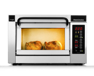 """PizzaMaster PM451ED 450 Series 18.1"""" Standard Width One Chamber 1 Stone Hearth Electric Countertop Pizza Ovens 