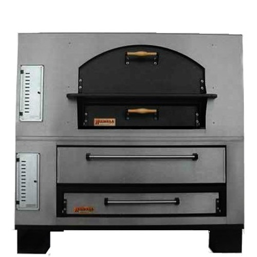 Marsal MBC-660 12 PIE COMBO Gas Deck Pizza Oven