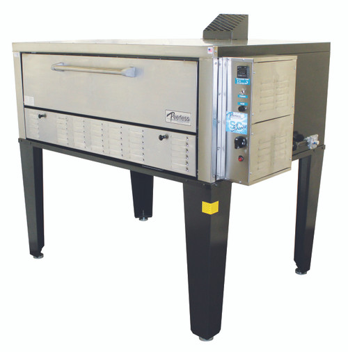 Peerless  CW100PESC - 1 Deck Gas / Electric Pizza Oven