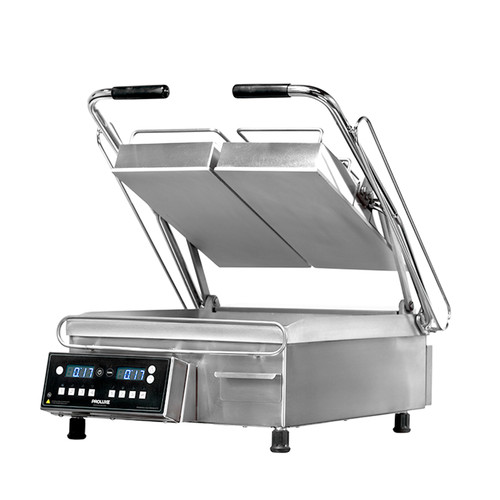 """Proluxe SL1577 Two Sided Stainless Steel Vantage SL Heavy-Duty Split Lid Sandwich / Panini Grills with 7.5"""" Grilling Surfaces"""