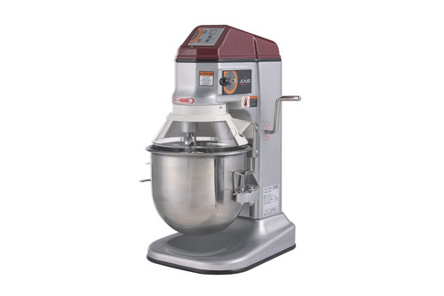 Axis AX-M12 12 Qt (Quart) Capacity Countertop Gear Driven Commercial Planetary Mixer by MVP Group Corp