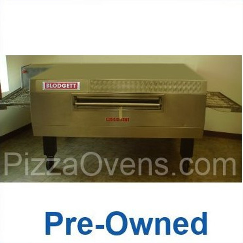 """Blodgett Pre-Owned MT3255 Stainless Steel Commercial Gas Conveyor Pizza Ovens with 32"""" Wide Belt, 55"""" Baking Zone Length & Impingement Operation 125000 BTU"""