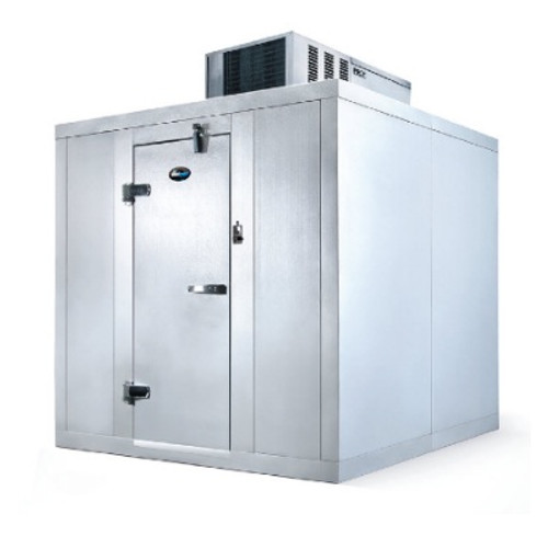 AmeriKooler QC081072**NBSC Walk In Cooler (8' x 10') no floor