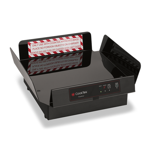 """CookTek PTDS200 Pizza Thermal Delivery System with FlashPak Disc, 16"""" Bag and PCT Tray Insert 
