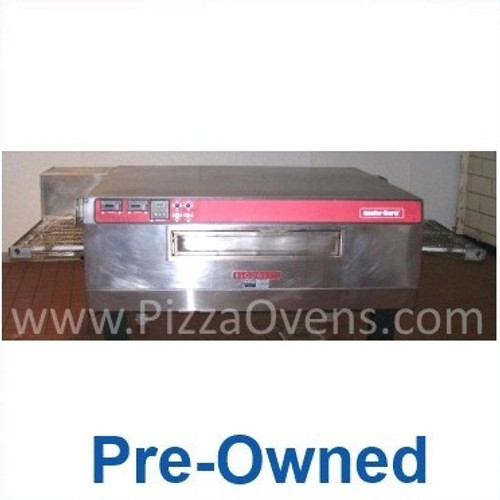 """Blodgett Pre-Owned MT3270 Stainless Steel Commercial Gas Conveyor Pizza Ovens with 32"""" Wide Belt, 70"""" Baking Zone Length & Impingement Operation 150000 BTU"""