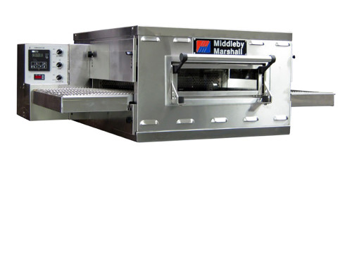 """Middleby PS528G Direct Gas Fired Commercial Countertop Conveyor Ovens with 28 inch Long Cooking Chamber and 18"""" Wide x 50"""" Long Conveyor Belt 
